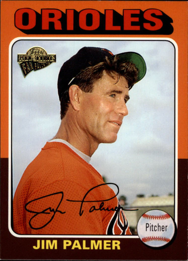 2003 Topps All-Time Fan Favorites #46 Jim Palmer front image
