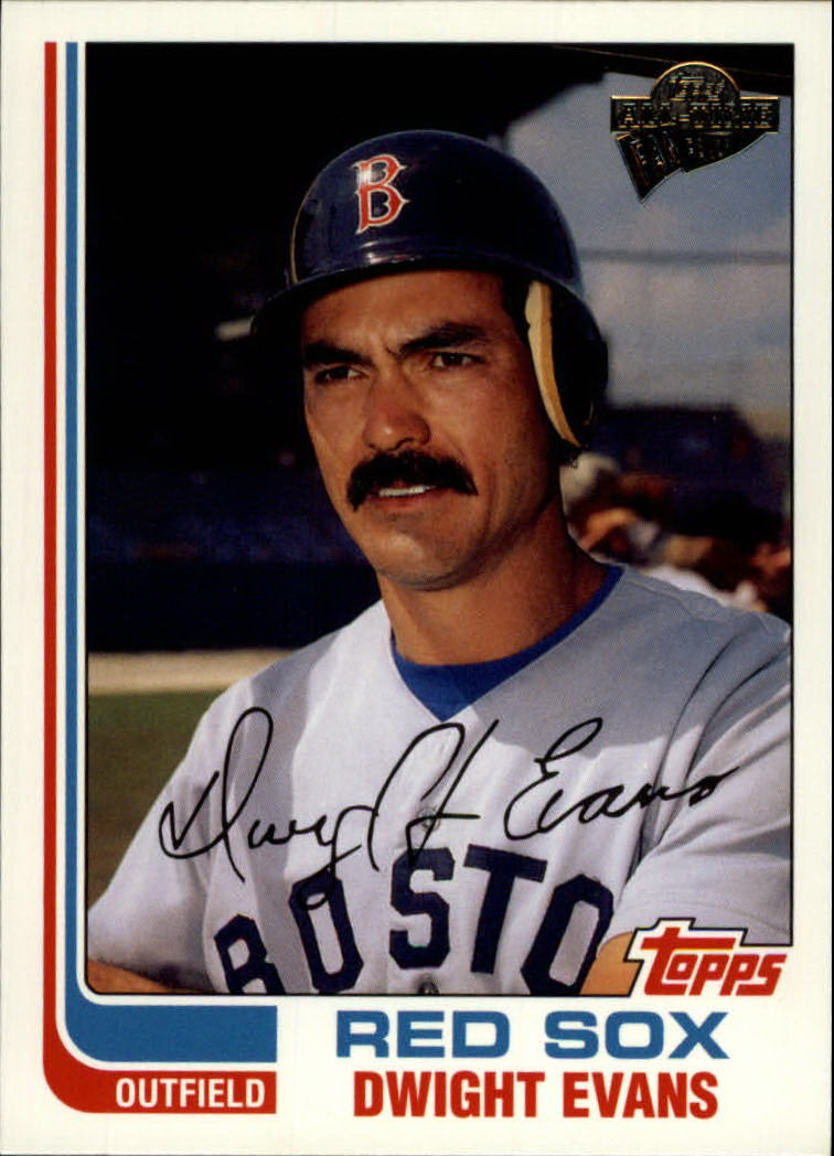 2003 Topps All-Time Fan Favorites #48 Dwight Evans