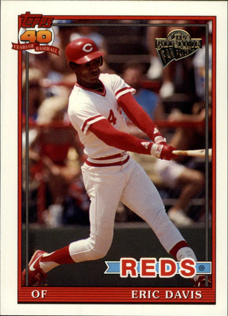 2003 Topps All-Time Fan Favorites #57 Eric Davis