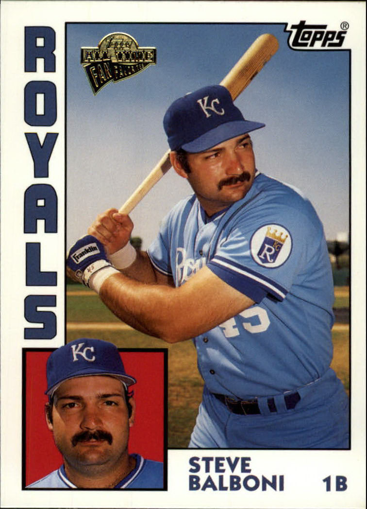 2003 Topps All-Time Fan Favorites #59 Steve Balboni
