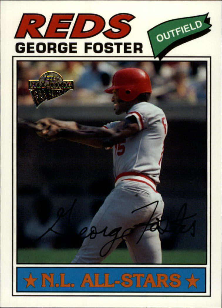 2003 Topps All-Time Fan Favorites #74 George Foster