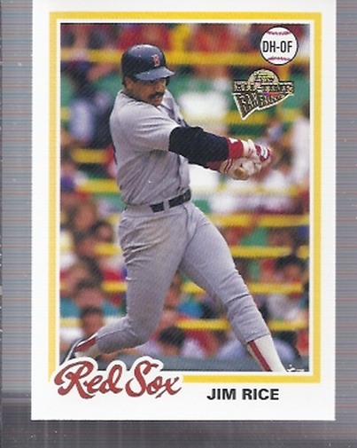 2003 Topps All-Time Fan Favorites #78 Jim Rice