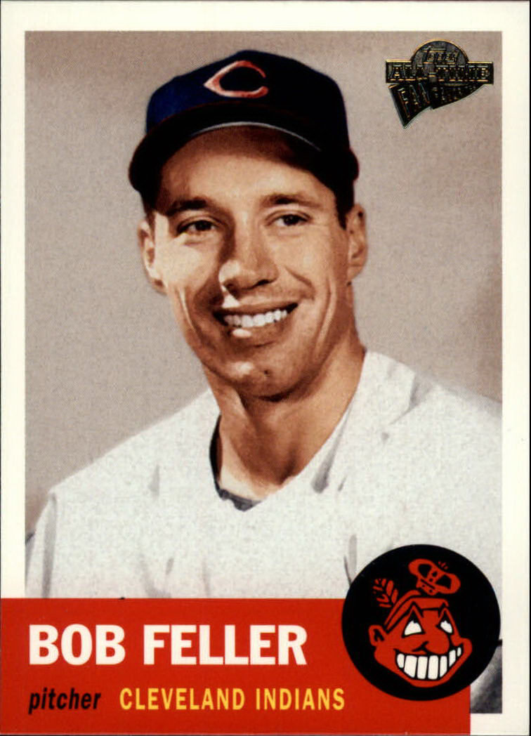 2003 Topps All-Time Fan Favorites #85 Bob Feller