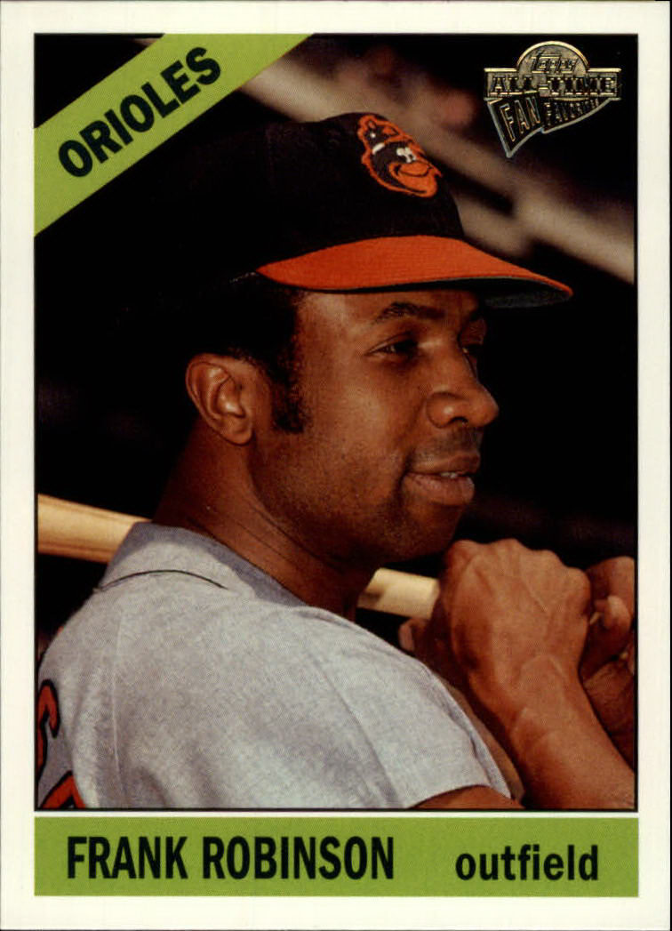 2003 Topps All-Time Fan Favorites #86 Frank Robinson