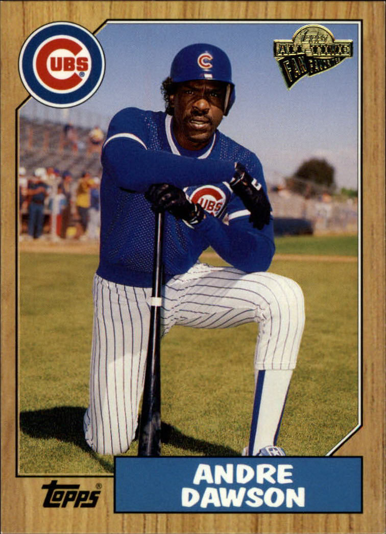 2003 Topps All-Time Fan Favorites #89 Andre Dawson