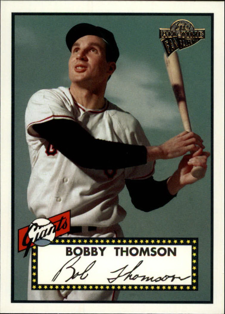 2003 Topps All-Time Fan Favorites #95 Bobby Thomson