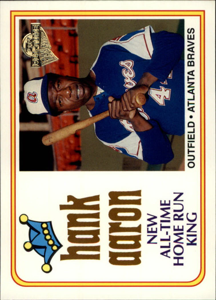 2003 Topps All-Time Fan Favorites #100 Hank Aaron
