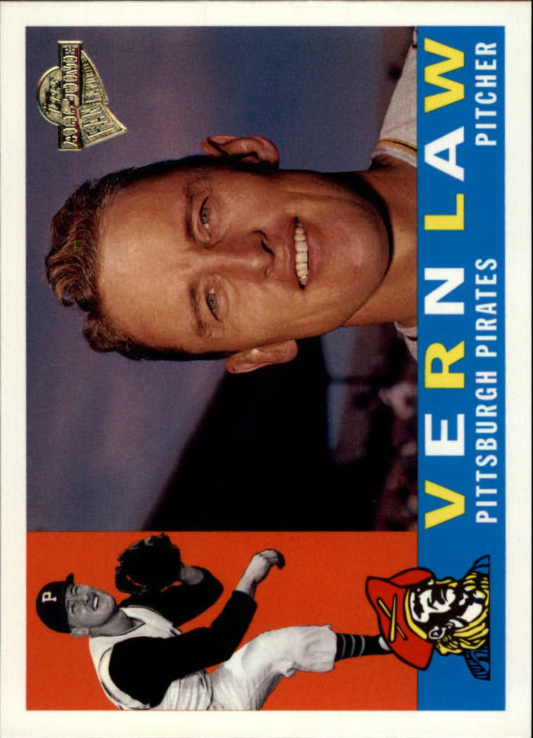 2003 Topps All-Time Fan Favorites #102 Vern Law front image