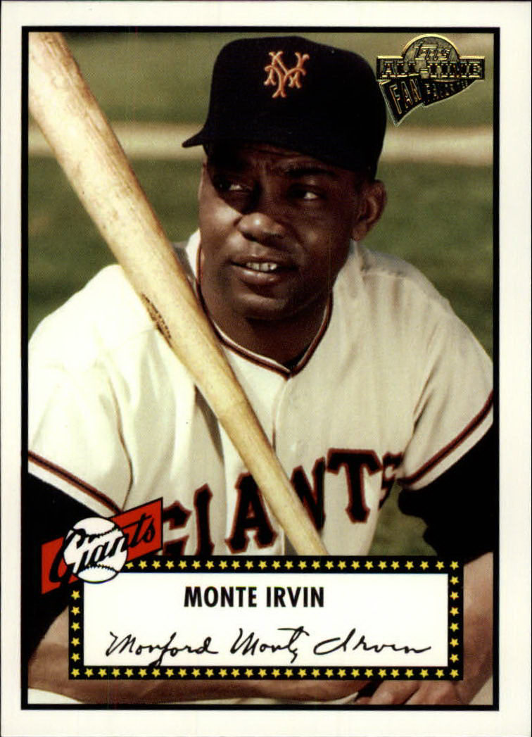 2003 Topps All-Time Fan Favorites #108A Monte Irvin