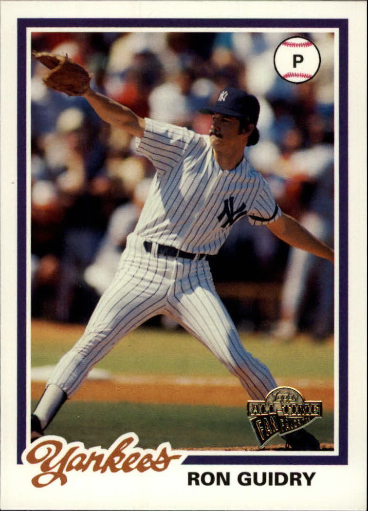 2003 Topps All-Time Fan Favorites #118 Ron Guidry