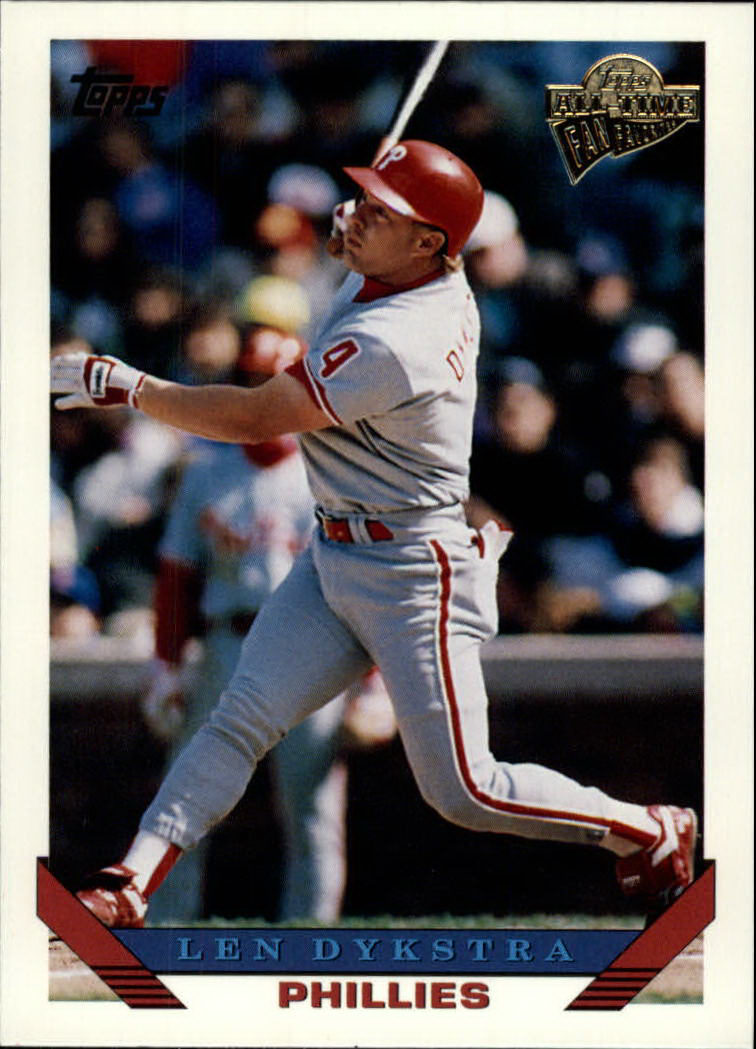 2003 Topps All-Time Fan Favorites #141 Lenny Dykstra