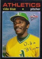 2003 Topps All-Time Fan Favorites Chrome Refractors #58 Vida Blue front image