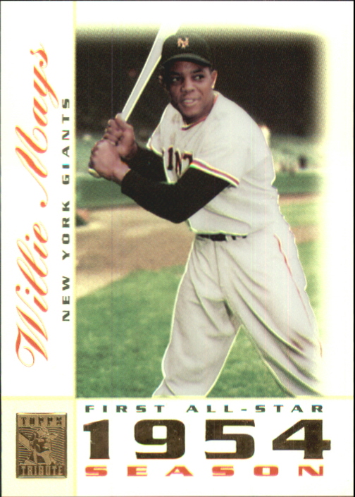 2003 Topps Tribute Perennial All-Star #1 Willie Mays
