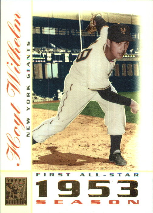 2003 Topps Tribute Perennial All-Star #3 Hoyt Wilhelm
