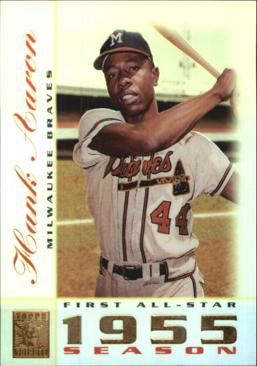 2003 Topps Tribute Perennial All-Star #4 Hank Aaron