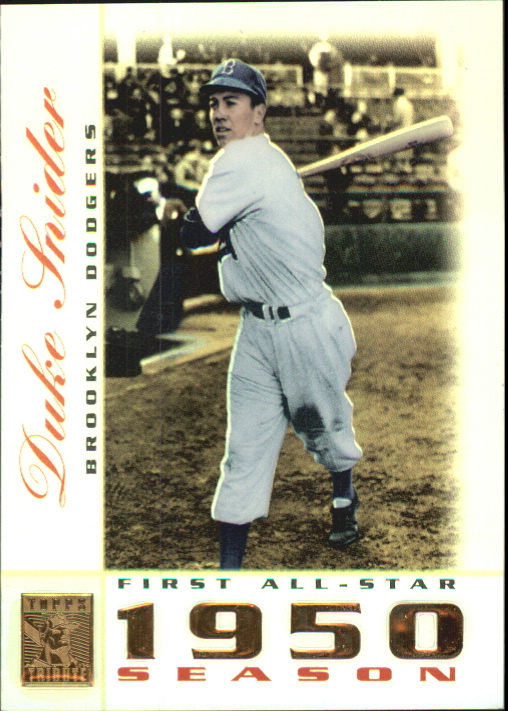 2003 Topps Tribute Perennial All-Star #7 Duke Snider