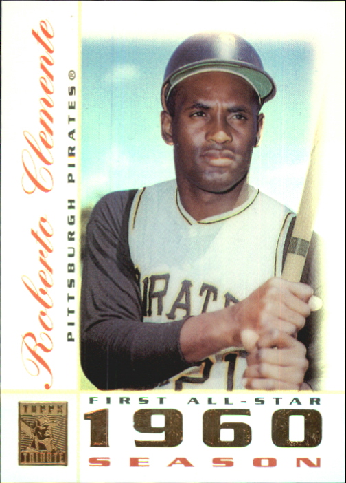 2003 Topps Tribute Perennial All-Star #10 Roberto Clemente