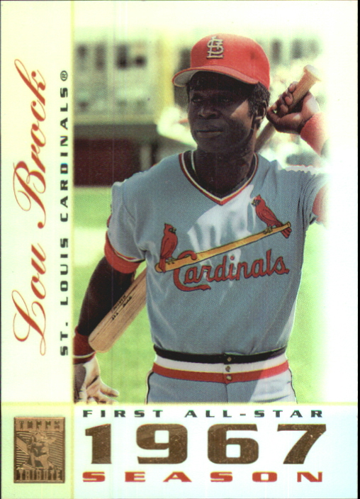 2003 Topps Tribute Perennial All-Star #13 Lou Brock
