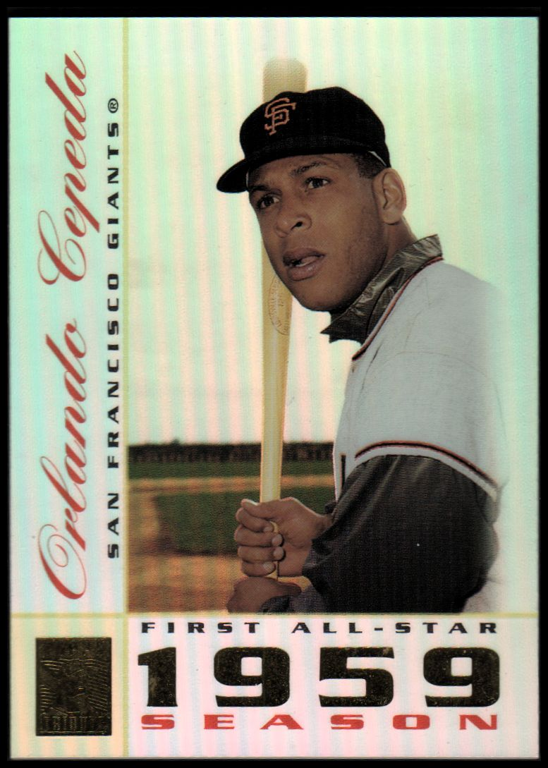 2003 Topps Tribute Perennial All-Star #14 Orlando Cepeda