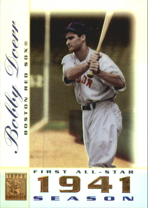 2003 Topps Tribute Perennial All-Star #21 Bobby Doerr
