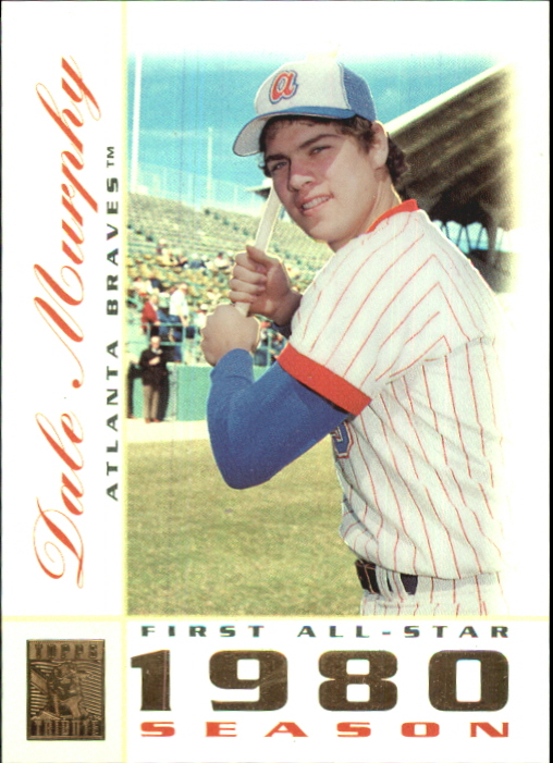2003 Topps Tribute Perennial All-Star #22 Dale Murphy