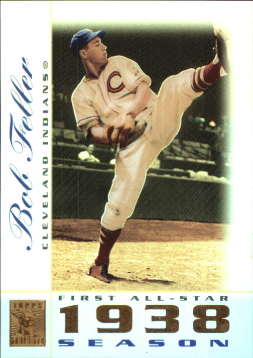 2003 Topps Tribute Perennial All-Star #23 Bob Feller