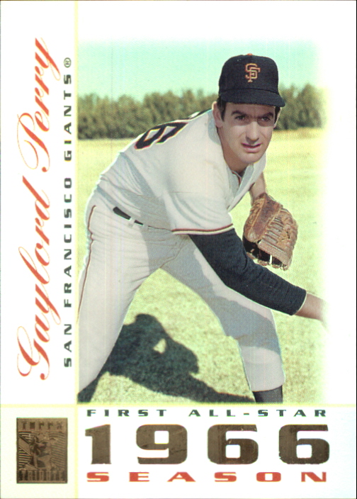 2003 Topps Tribute Perennial All-Star #31 Gaylord Perry