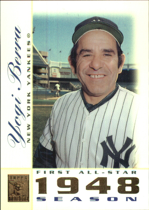 2003 Topps Tribute Perennial All-Star #45 Yogi Berra