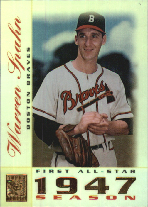 2003 Topps Tribute Perennial All-Star #49 Warren Spahn