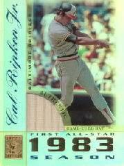 2003 Topps Tribute Perennial All-Star Relics #CRB Cal Ripken Bat P