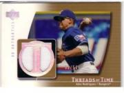 2003 UD Authentics Threads of Time Gold #AR Alex Rodriguez Jsy/50