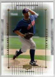 2003 UD Patch Collection #33 C.C. Sabathia