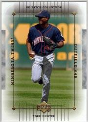 2003 UD Patch Collection #57 Torii Hunter