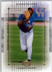 2003 UD Patch Collection #63 Vladimir Guerrero