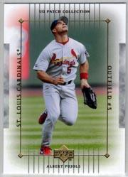 2003 UD Patch Collection #106 Albert Pujols