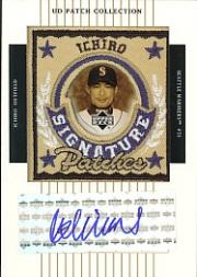 2003 UD Patch Collection Signature Patches #IS Ichiro Suzuki SP
