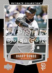 2003 Ultimate Collection #8 Barry Bonds
