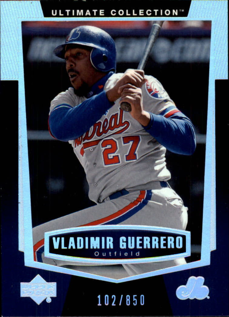 2003 Ultimate Collection #11 Vladimir Guerrero