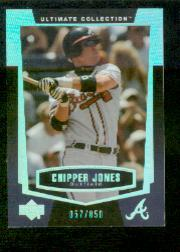 2003 Ultimate Collection #16 Chipper Jones