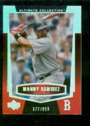 2003 Ultimate Collection #29 Manny Ramirez