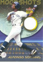 2003 Ultra Moonshots Memorabilia #AS Alfonso Soriano Pants