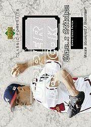 2003 Upper Deck Classic Portraits Stitches Patch #GM Greg Maddux