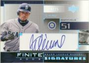 2003 Upper Deck Finite Signatures #IS Ichiro Suzuki/25