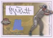 2003 Fleer Fall Classics All-American Game Used Autographs #GB George Brett Jsy