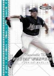 2003 Fleer Mystique Secret Weapons #2 Dontrelle Willis