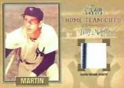 2003 Flair Greats Home Team Cuts Game Used #9 Billy Martin Pants