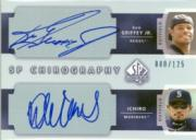 2003 SP Authentic Chirography Doubles #JI Ken Griffey Jr./Ichiro Suzuki/125