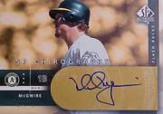 2003 SP Authentic Chirography Flashback Gold #MA Mark McGwire