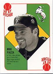2003 Topps Blue Backs #BB11 Mike Piazza