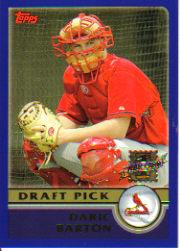 2003 Topps Draft Picks #10 Daric Barton